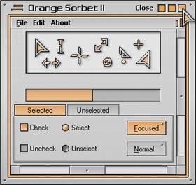Orange Sorbet II