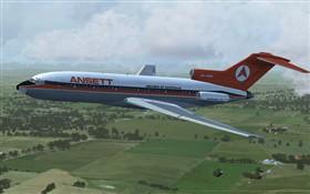 Ansett Boeing 727-100