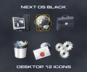 Next OS Black Desktop