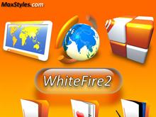 WhiteFire2 Dock Icons Pack of 10