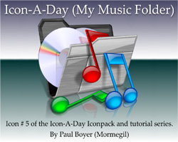 Icon-A-Day #5 (My Music Folder)
