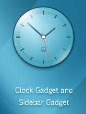 Meridian Sideback Clock
