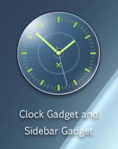 Jakuta Clock Gadget