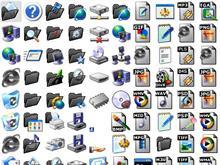 Black XP Folders