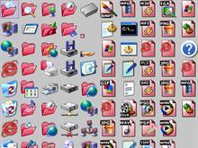 Red XP Folders
