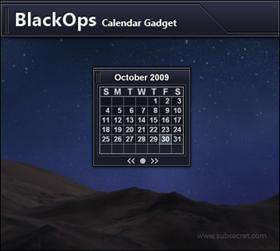 BlackOps Calendar