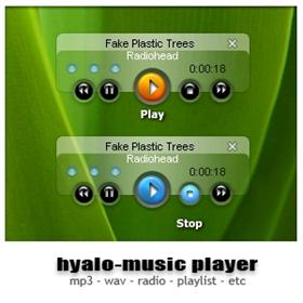 Hyalo-Music Player