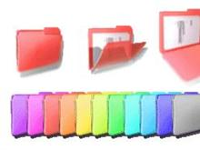 Animated MAC Folders