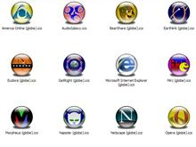 Internet Apps 1 XP Icons (Globe)