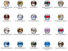 Games 5 XP Icons (Globe)