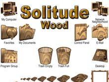 Solitude - Wood 9x