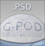 G-Pod v2 PSD files