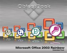 Microsoft Office 2003 Rainbow Extended Pack