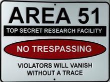 Area-51 Sign