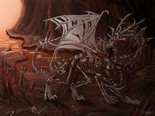 The Dragon of Death by =Ruth-Tay