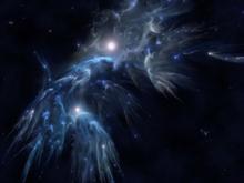 Waterfall Nebula  by casperium