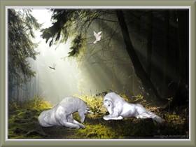Unicorn Morning by GypsyH