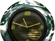 Camuflaje Clock