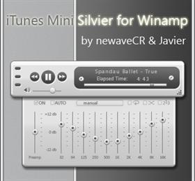 iTunes Mini Silvier