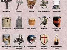 Medieval Icons Pack 1