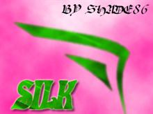 Silk Fibre - green