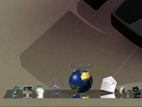 Reflecting and Rotating Earth Globe