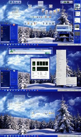 Sapphire Blue Winter (TM Suite)