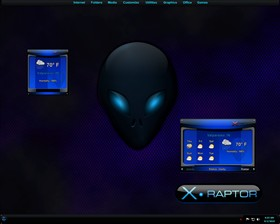 X Raptor Weather