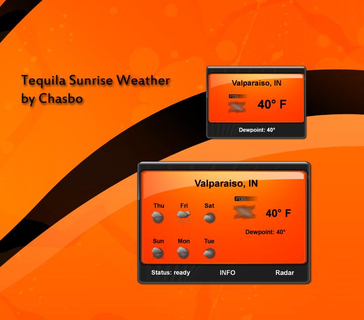 Tequila Sunrise Weather