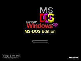 Windows XP MS-DOS Edition