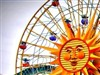 Sun Wheel at the Pier by: MouseGoddess