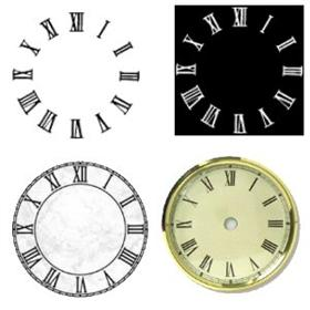 Roman Numeral Clock