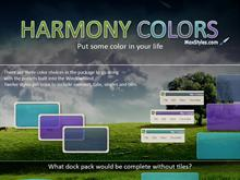 Harmony Colors Dock Backgrounds