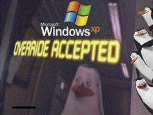 Windows XP Override Accepted boot