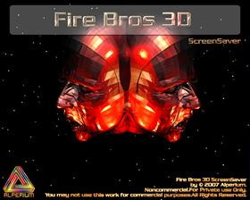 Fire Bros 3D ScreenSaver