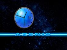 Azenis2 Theme Clock