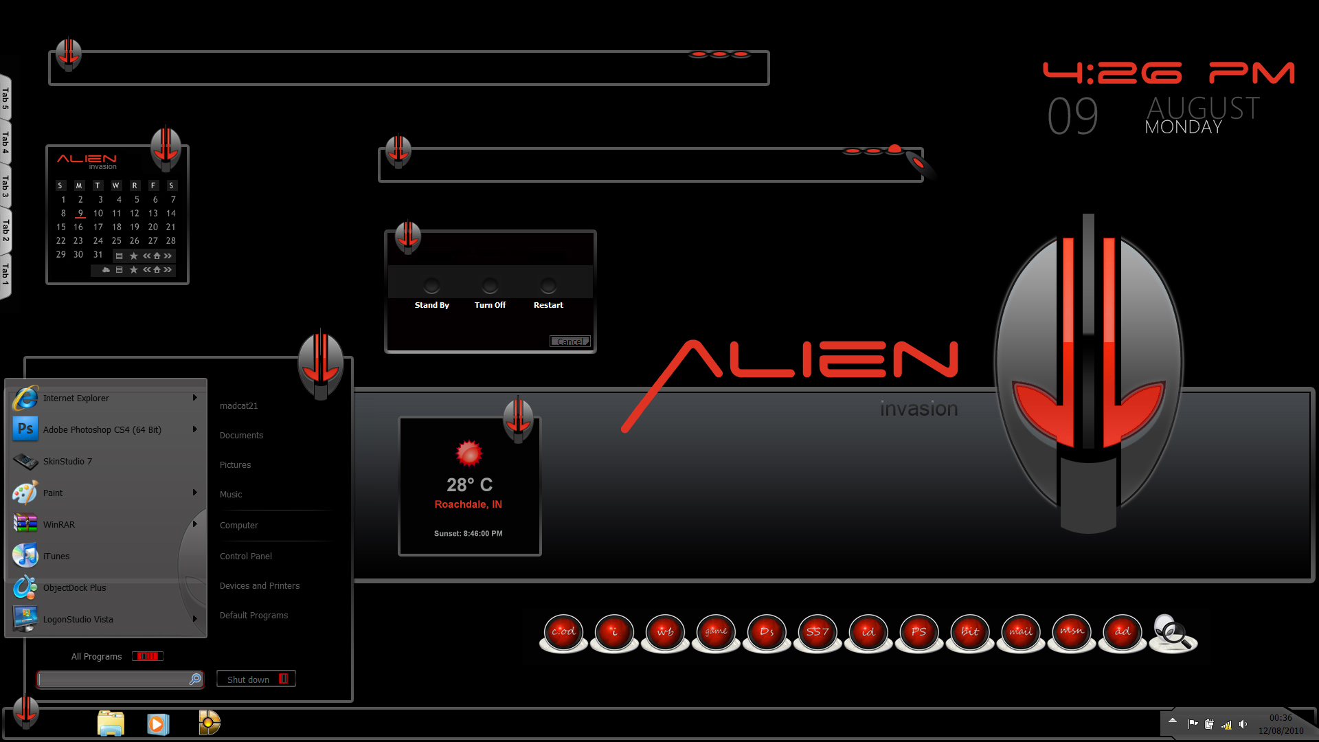 Alien Invasion wb