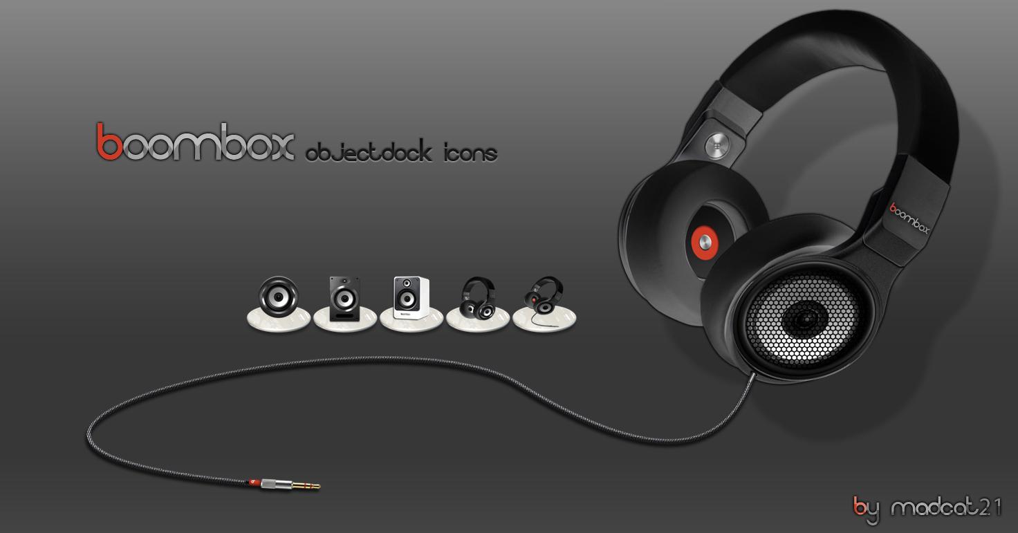 boombox icons