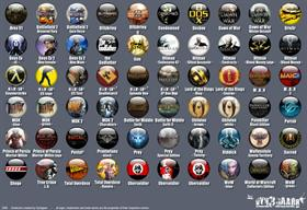 60 Game icons by Vyn3gaarr (part II)