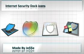 Internet Security Dock icons