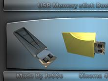 USB memory stick dock icons