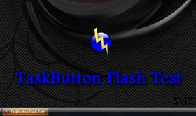 TaskButton Flash Test