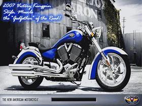 Victory Kingpin Motorcycle