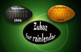 ZubaZ for Rainlendar