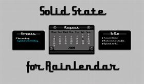 Solid State for Rainlendar