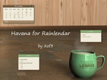 Havana for Rainlendar