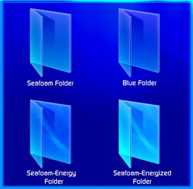 Blue - Energy Folder Icons