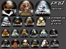 Gunmetal Game Icons1