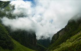 Cloudy Valley