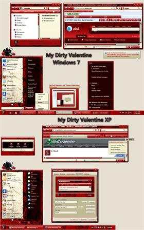 My Dirty Valentine Windowblind